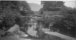 Minllyn Bridge about 1900