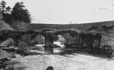 Minllyn Bridge, about 1920