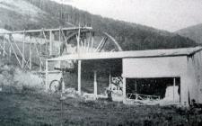 Abermynach Brickworks, Aberangell 1902