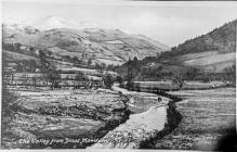 View from Dolybont , late 1930s