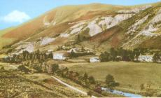 Minllyn village & quarry ,1930s
