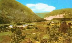 Dinas Mawddwy from the East,1930s