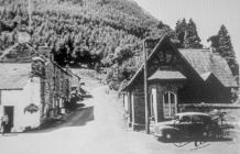 Old Lodge Entrance, Dinas Mawddwy 1955