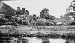 Dinas Mawddwy Plas Ruins, late 1930s