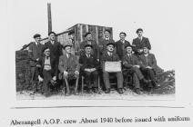 Aberangell AOP Crew about 1940