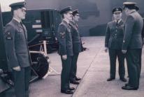 John Langcake: AVM Roger Palin Visits RAF...