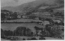 Aberangell General view 1930s