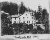 Plas Cwmllecoediog 1880s