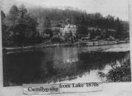 Plas Cwmllecoediog from Lake 1870s