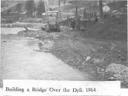 Dyfi Bridge Building 1964
