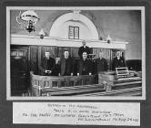 Elders Inside Bethania Chapel, Aberangell