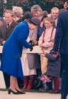 John Langcake: Queen Elizabeth II Visits RAF...