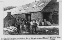 Hendremeredydd workers 1916