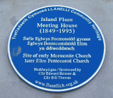 Island Place Meeting House, Llanelli:...