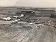 Aerial photograph, Ponca City, Oklahoma 1943