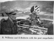R Williams & D Roberts at the Rangefinder