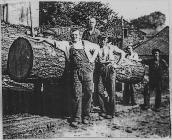 Aberangell Sawmill Workers Late 1930s