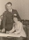 John and Marie Langcake Wedding Photo, Plymouth...