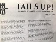 'Tails Up'. The magazine of the No 6...