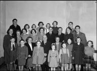 Aberangell Urdd group 1952