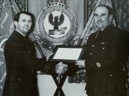 John Langcake's Warrant Presentation 1980s