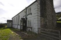 Sion chapel and house Llanwrin