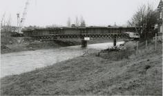 Construction of Cambrian Bridge, Newtown, 1992