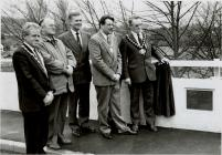 Official Opening of Cambrian Bridge, Newtown, 8...