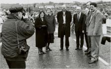 Agoriad Swyddogol Pont y Cambrian, Y Drenewydd,...