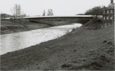 Cambrian Bridge, Newtown, crossing the River...