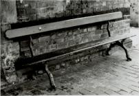 Bench at Newtown Railway Station