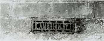 Cambrian sign at Newtown Railway
