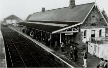 Newtown Railway Station Platform