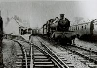 Steam train 7822 at Newtown station