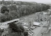 Aerial View of Newtown Railway Station