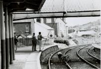 Workers on Railway Line at Newtown Station