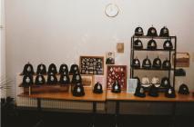 Police memorabilia display