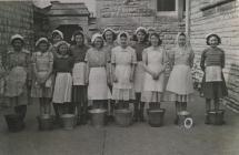 Albert Road Girls' School, 1951.