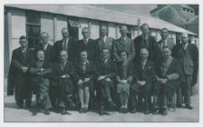 The Staff, Penarth County School, 1946.