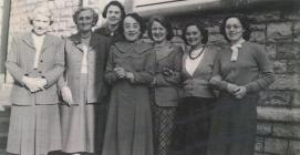 Albert Road Infants' Staff, 1950