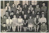 Albert Road Infants School, Standard IV in 1959.
