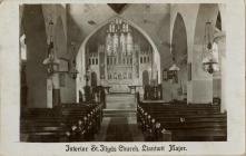 Interior of St Illtyds Church, Llantwit Major