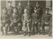 World War 2 Special Constabulary with Mayor of...