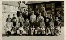 St Helens Roman Catholic School, Form 1A, Barry...
