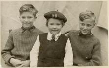 Michael, Mary and Philip Davies