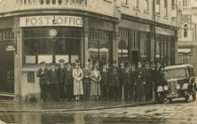 Penarth Post Office and Staff.