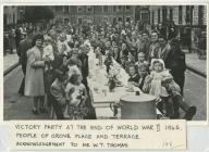 Victory Party in Grove Place and Grove Terrace...