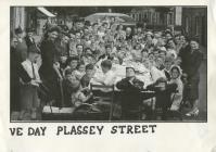 V.E. Day Plassey Street