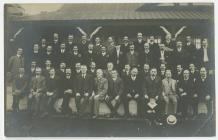 Photograph of a Large Group of Men