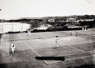 Tennis courts, Barry Island